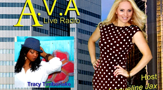 A.V.A Live Radio Features Dazzle Diaries with Tracy Timberlake