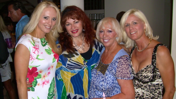 Birthday Bash of the Year! Jacqueline Jax, Wanda Ferrari, Galia Jax, Debbie Postma