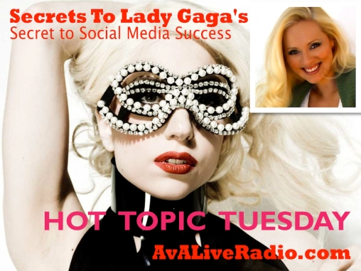 TUESDAY_lady gaga Social Media success