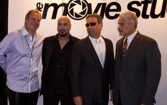 Gordon Scott venters ava live radio movie premier exposure Barry Jay Minoff