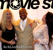 Jacqueline Jax Excelina ava live radio movie premier exposure jax