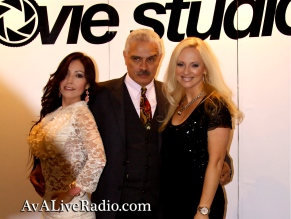 Jacqueline Jax Excelina ava live radio movie premier exposure