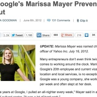 Hot Topic: 3 Tips to Preventing Burnout from Yahoo CEO Marissa Mayer