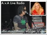 Alan Vine Jacqueline Jax ava live radio