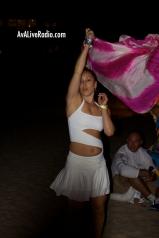 Shino_bay_white_party_dancer_AVA_live_radio