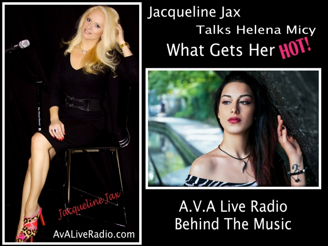 A.V.A Live Radio Behind The Music with Artist Helena Micy