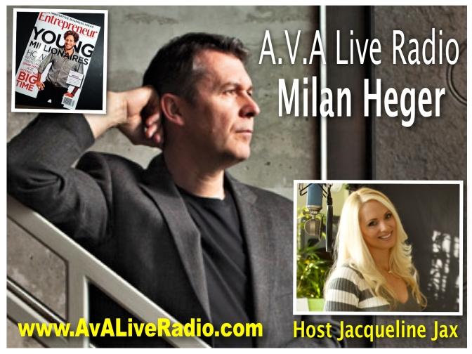 Milan Heger Show Logo