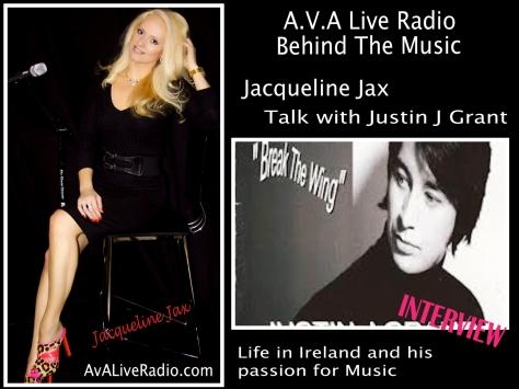 Behind the music Justin J Grant - Jacqueline Jax