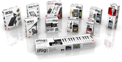 ik multimedia products for musicians