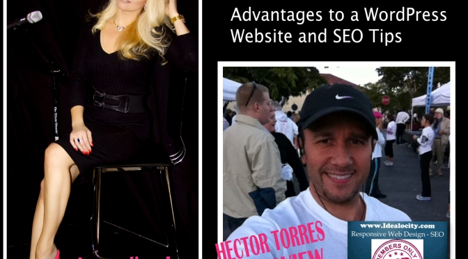 {Interview} Secrets of Success: Advantages to a WordPress Website, SEO Tips & Getting Views