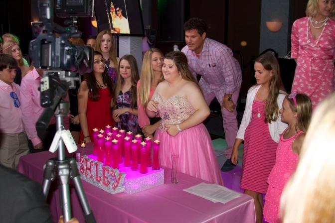 Celebrity Bash: Host Jacqueline Jax Celebrates Ashley Moskos 16th Birthday Party